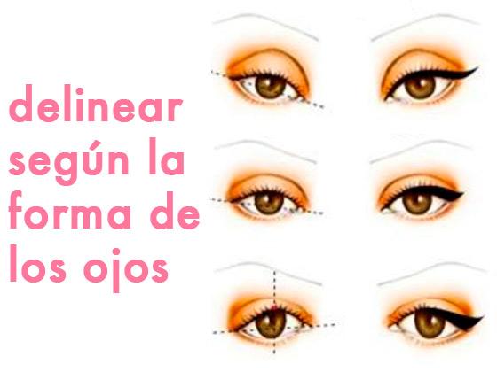 Cómo delinear según la forma de los ojos