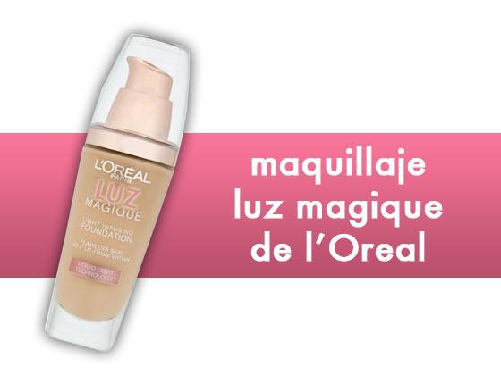Maquillaje Luz Magique de L'Oreal