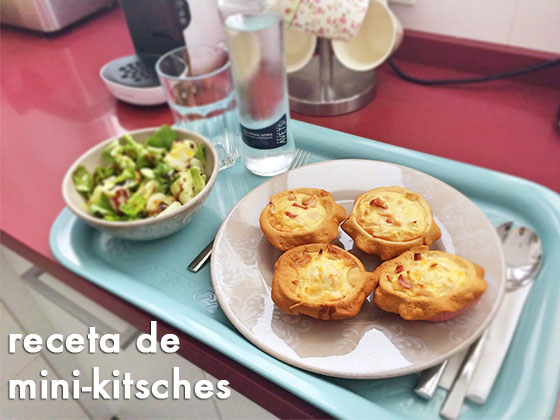 Receta Mini-Kistches