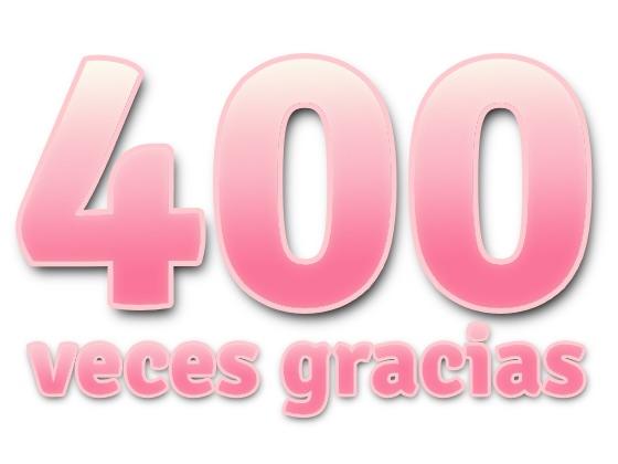 400 seguidores en Facebook!!!