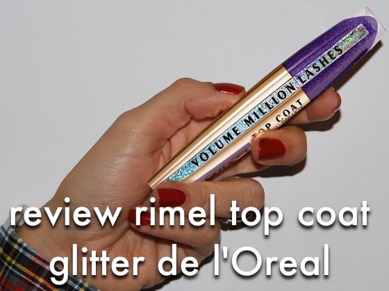 Review Rimel Top Coat Glitter l'Oreal