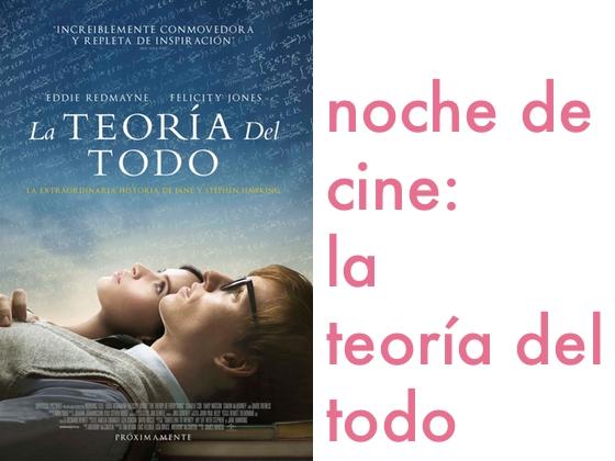 Noche de cine: La Teoría del Todo
