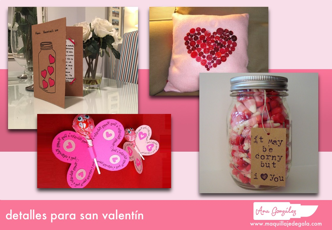 Detalles para san valent n maquillaje de gala for Decoracion de pared para san valentin