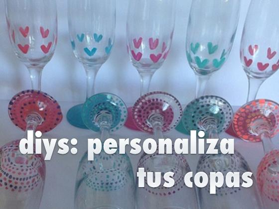 DIYS: Personaliza tus copas