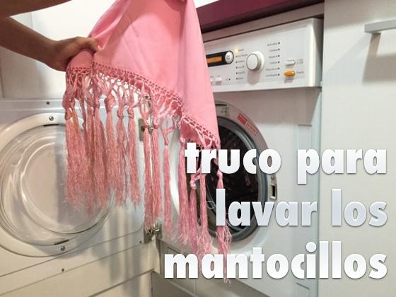 Truco para lavar los mantoncillos