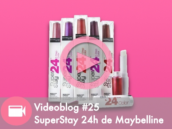 Videoblog #25: Review SuperStay 24h Maybelline