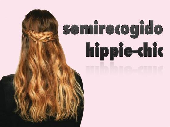 Semirecogido Hippie Chic