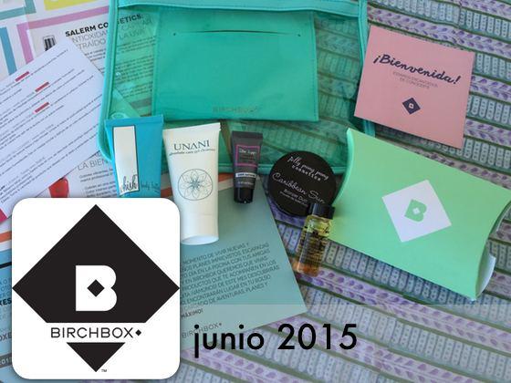 Birchbox Junio 2015