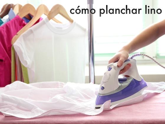 Cómo Planchar Lino
