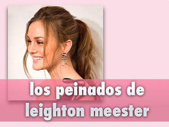 Los peinados de Leighton Meester