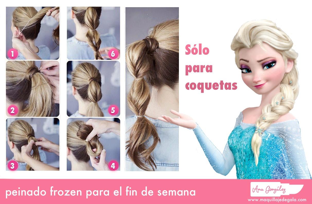 peinado frozen