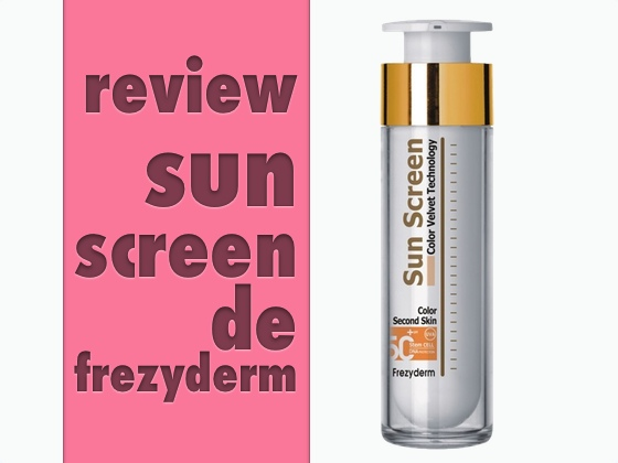 Review Sun Screen de Frezyderm