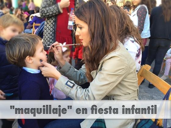 Maquillaje en fiesta infantil