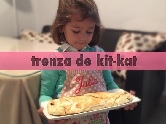 Trenza de KitKat