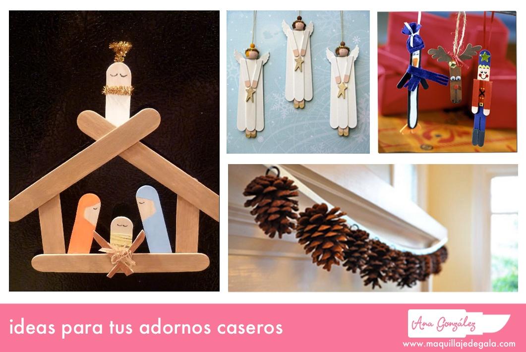 Ideas para tus adornos de navidad caseros Maquillaje de Gala