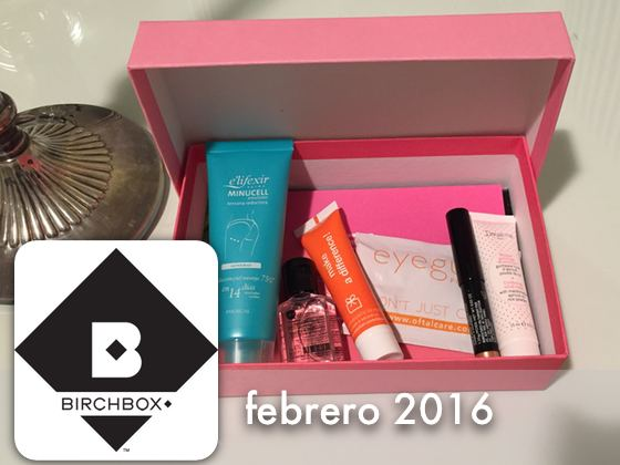 Birchbox Febrero 2016