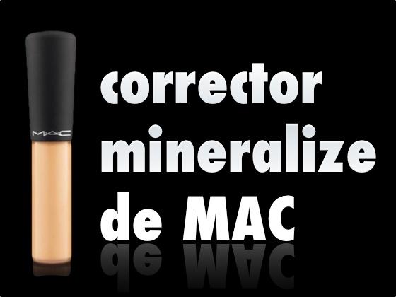 Corrector Mineralize de Mac