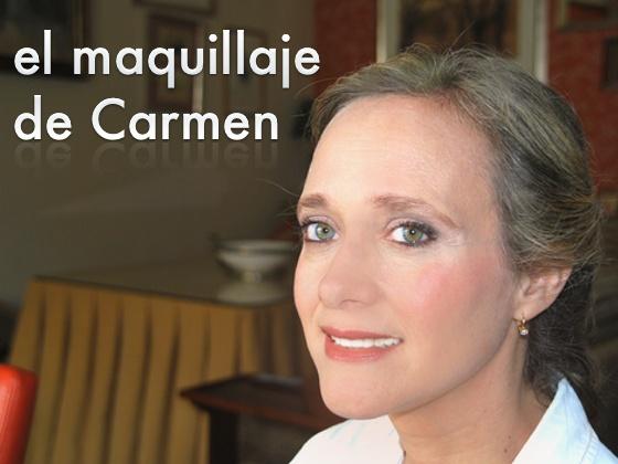 El maquillaje de Carmen