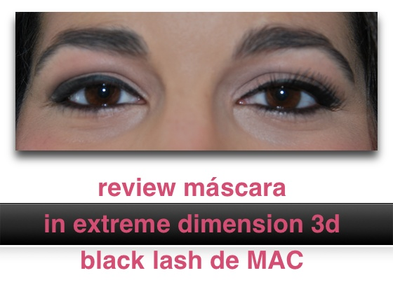 Máscara In Extreme Dimension 3d Black Lash de MAC