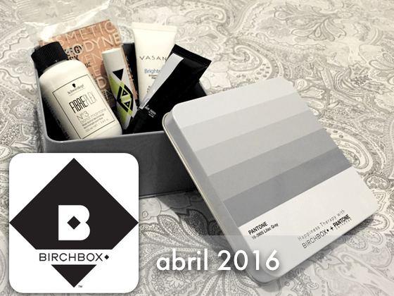 Birchbox Abril 2016