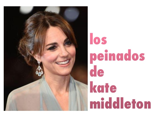 Los peinados de Kate Middleton