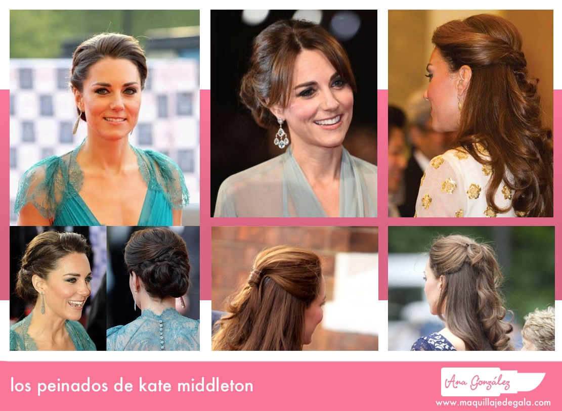 los-peinados-de-kate-middleton