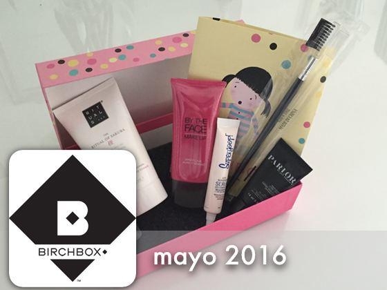 Birchbox Mayo 2016