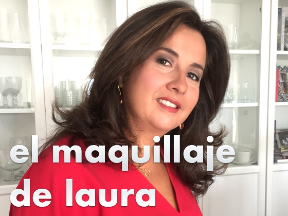 El maquillaje de Laura