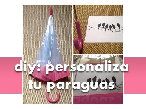 DIY: Personaliza tu paraguas